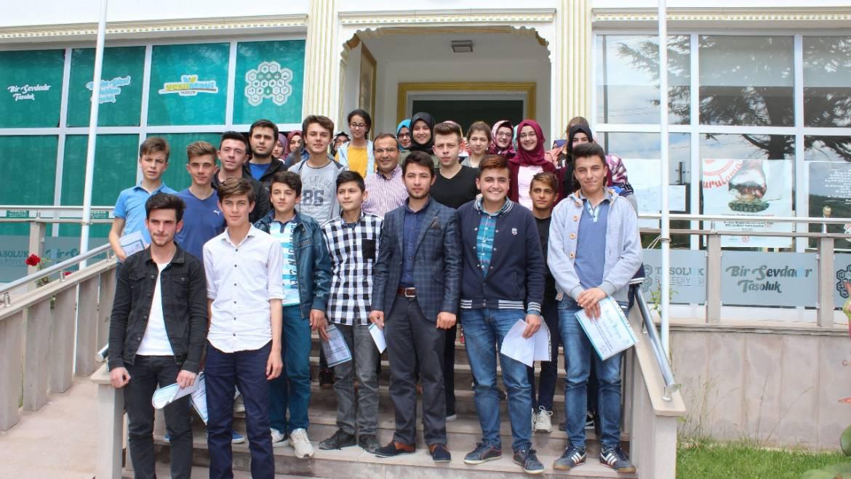 Başarlı Öğrenciler Belediyemiz Tarafından Ödüllendirildi.