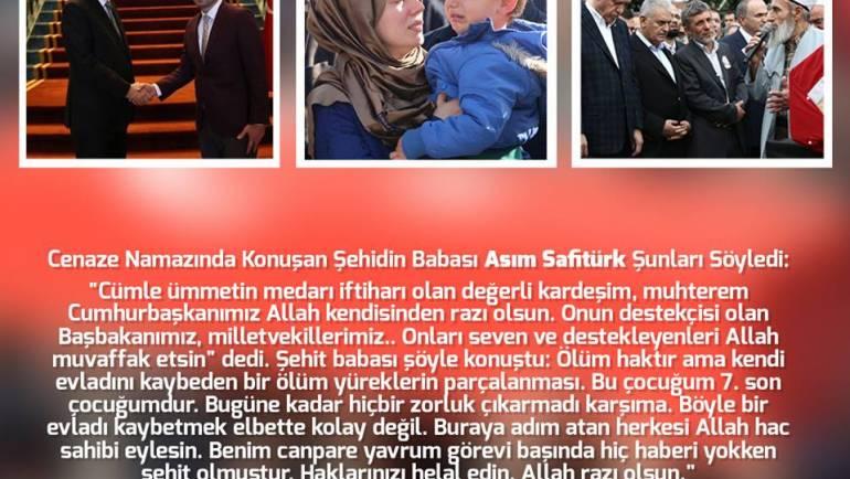 Şehitimiz Fatih Safitürk