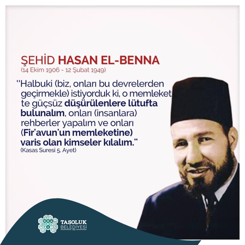 Şehidimiz Hasan El-Benna