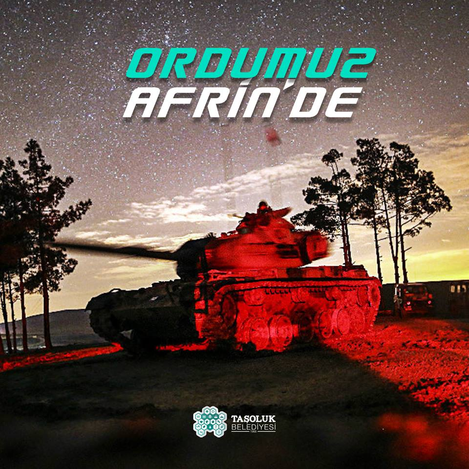 Artık Afrin'deyiz
