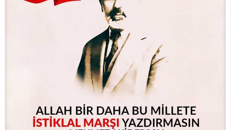 İstiklal Marşımızın 97. Yılı Kutlu Olsun.